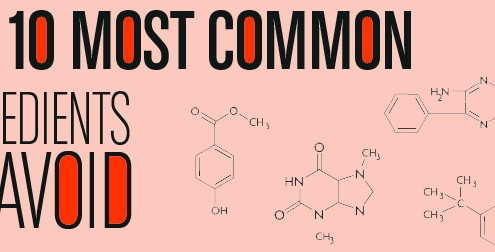 10 Most Common Ingredients To Avoid