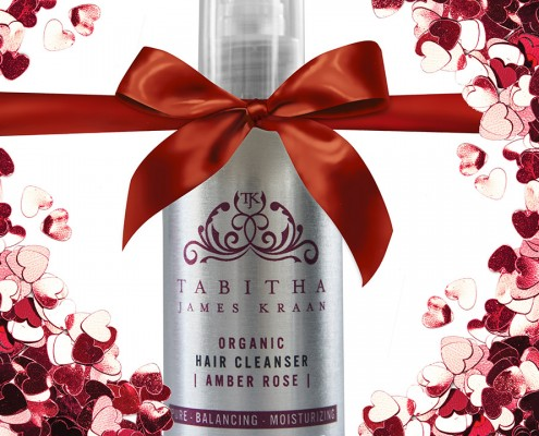 Amber Rose Hair Cleanser, for beautiful hair