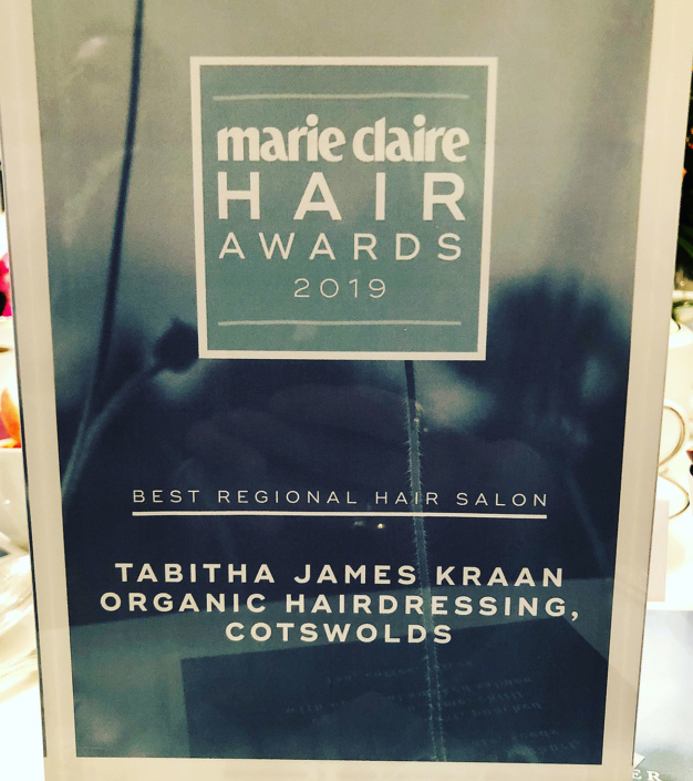Marie Claire Hair Awards 2019 - Best Regional Salon 2019