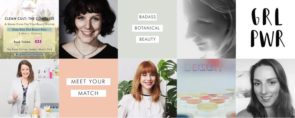 Clean Cult: The Consults | An evening of mini beauty consultations