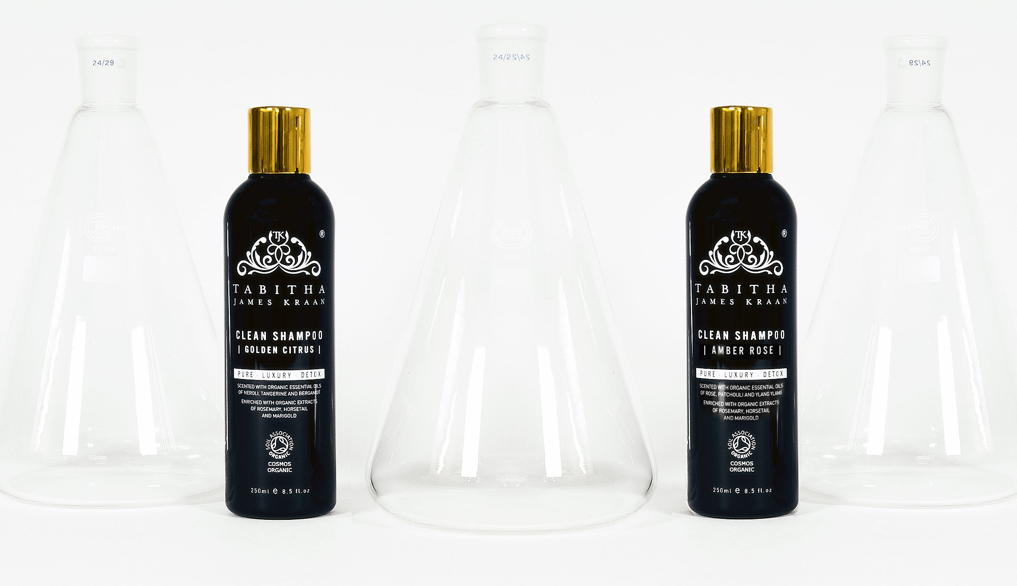 Certified Organic, Professional Shampoo by Tabitha James Kraan