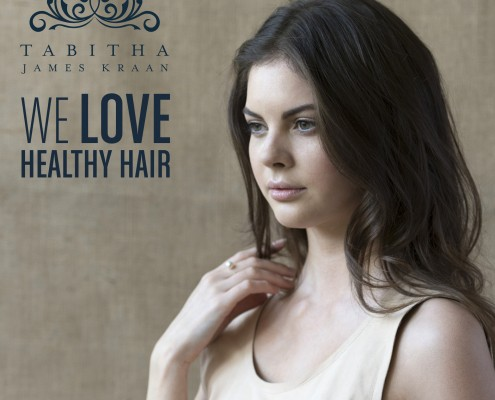 Tabitha James Kraan Loves Healthy Hair