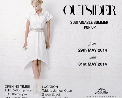 Outsider Fashion Pop Up Shop May 2014