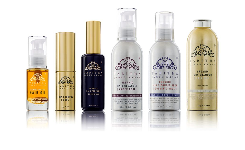 Tabitha James Kraan High Performance Hair Organics