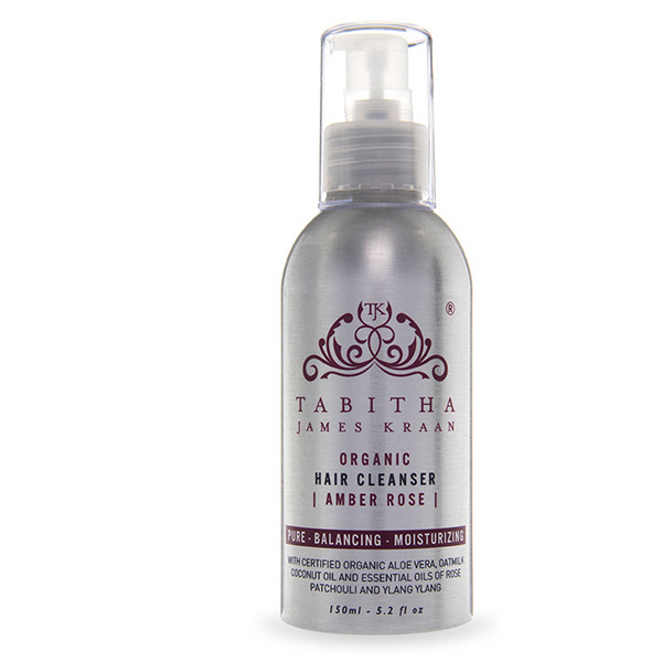 Tabitha James Kraan Amber Rose Organic Hair Cleanser