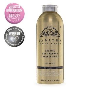 Tabitha James Kraan Organic Dry Shampoo for Darker Hair