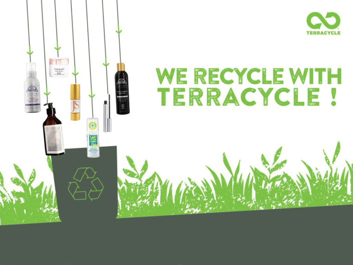 We recycle with TerraCycle