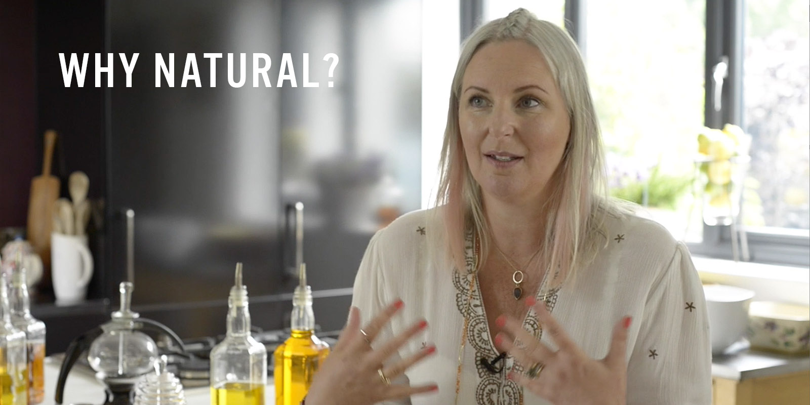 Tabitha explains Why Natural is better for your hair, body and health.